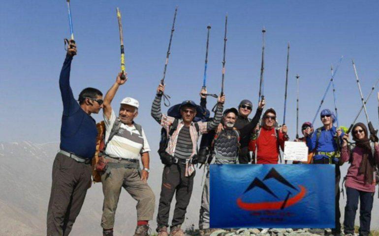 صعود همنوردان کانون کوه به قله اورجین