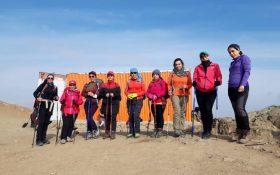 برگزاری  کلاس کار آموزی کوهپیمایی  بانوان