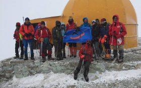 صعود  تیم  باشگاه کانون کوه   به قله توچال