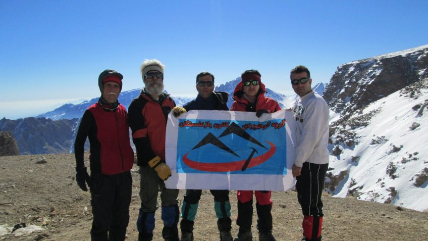 قله شیر کوه یزد
