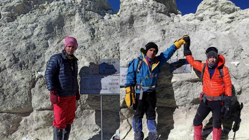 صعود افتخارآمیزتان در قالب تیم هیمالیانوردی استان البرز ، به قله دماوند